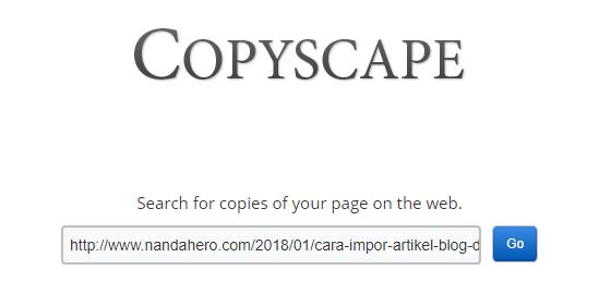 Cara Mengetahui Artikel Terindex COPAS (Copy-Paste) atau Tidak