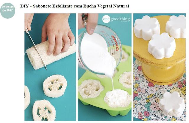 Que tal você mesma fazer seu sabonete esfoliante, usando fibra natural?