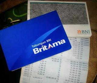 Proses Mengambil uang di bank BRI BNI BCA