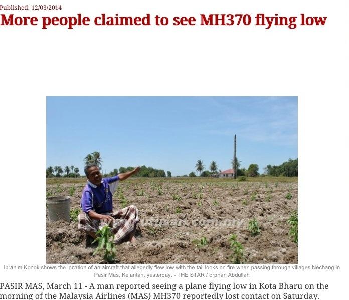 Was the disappearance of MH370 a CIA false flag operation