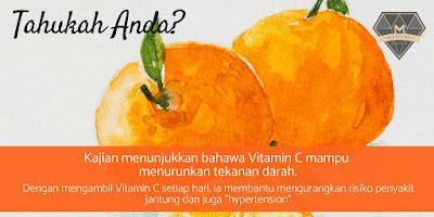 Vitamin C Kunci Kesihatan