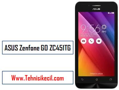 Cara Hard reset ASUS Zenfone GO ZC451TG Denagan mudah