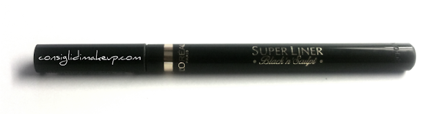 Review: Eyeliner Superliner Black'n'Sculpt - L'Oreal