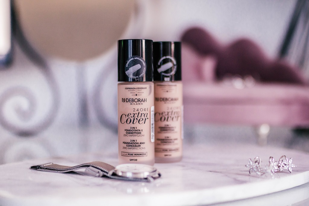 Deborah Milano  - 24 Ore Extra Cover, 2in 1 Foundation and Concealer - promocja rossmann