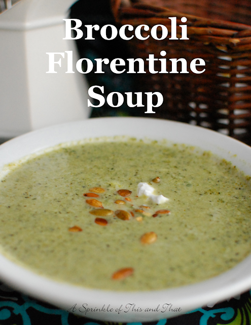 Broccoli Florentine Soup