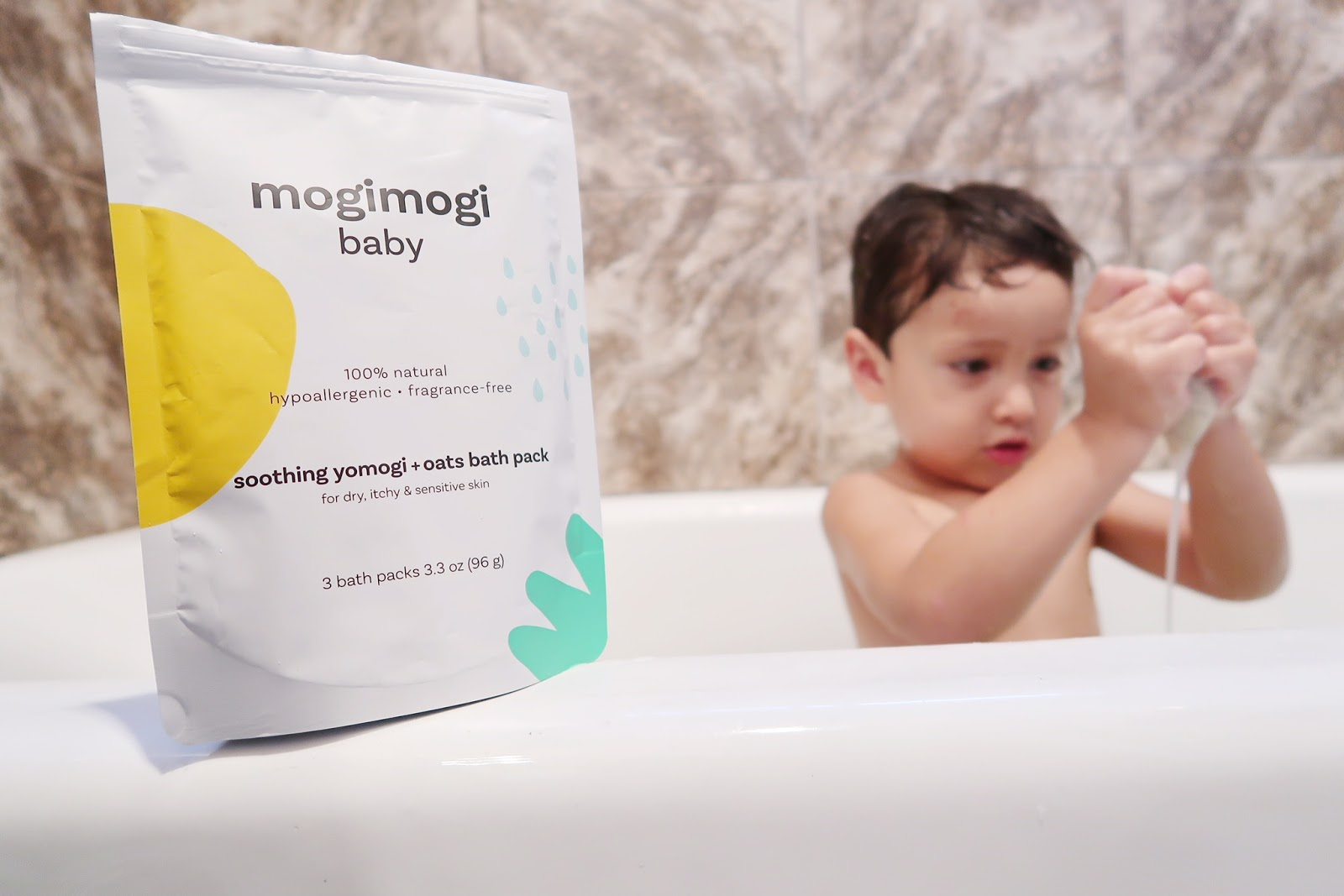 How Mogi Mogi Baby Soothes Sensitive Skin - Happy Mess MOMents