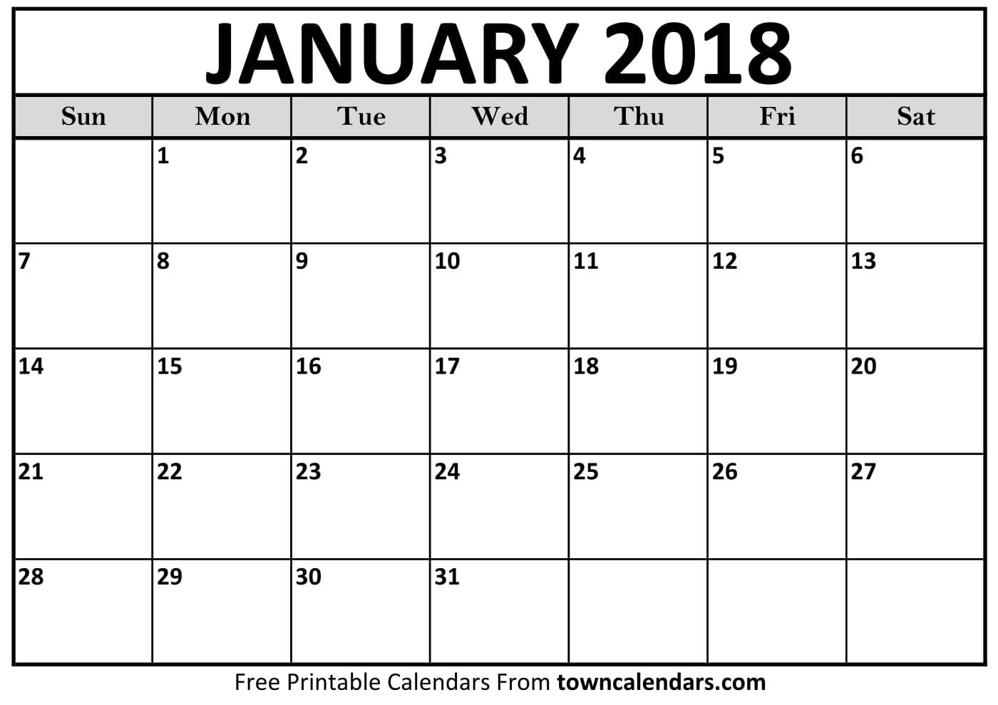 Blank Monthly Calendar January : January calendars kalendar