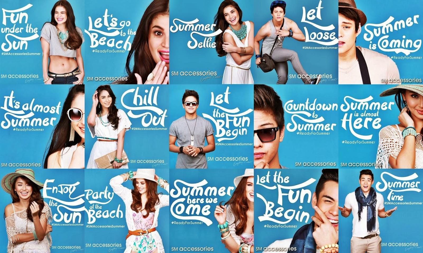 Wear Your Favorite Sm Accessories This Summer Season Just Like Your Favorite Stars Anne Curtis Smith Georgina Wilson Xian Lim Kathryn Bernardo