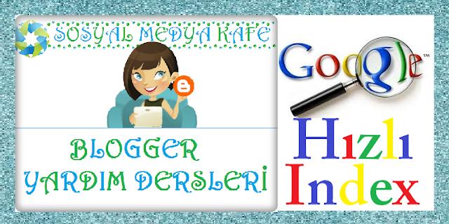 Google Hızlı İndex Aldırma