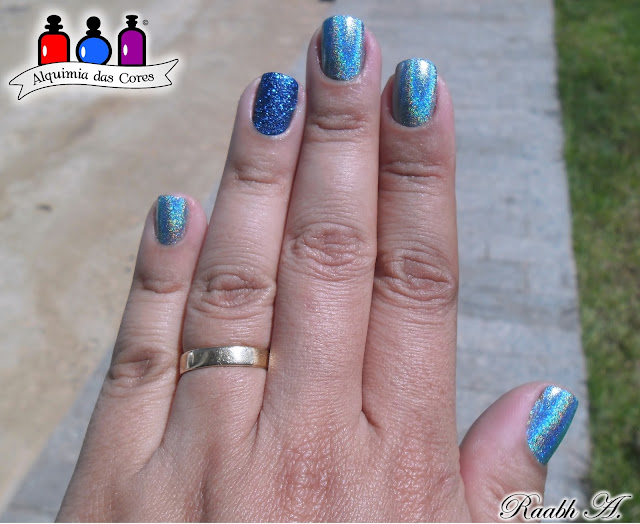 Unhas, Esmalte, Holográfico, Over the Moon, Color Club, Halo Hues, Azul, Liquid Sand, Essie, Lots of Lux, Esmalte Texturizado, glitter, Raabh A.,