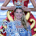 WATCH | Miss World 2016 : 119 Official Candidates
