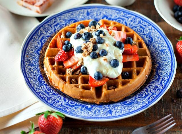 Easy homemade waffles