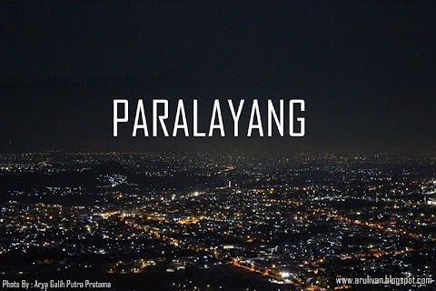 Travel : Paralayang