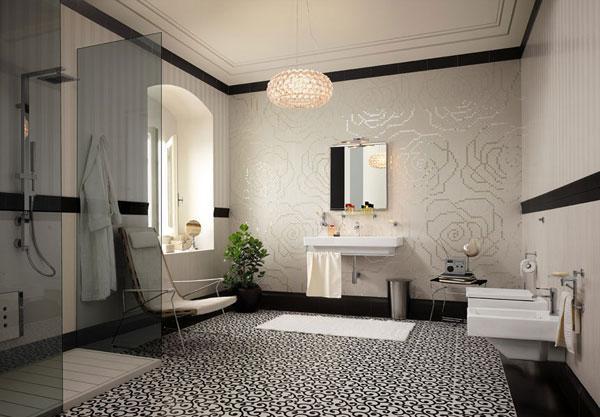 merupakan kepingan terpenting dari rumah di mana kita bisa membersihkan diri dan menyegarka Desain Kamar Mandi Modern dengan Shower