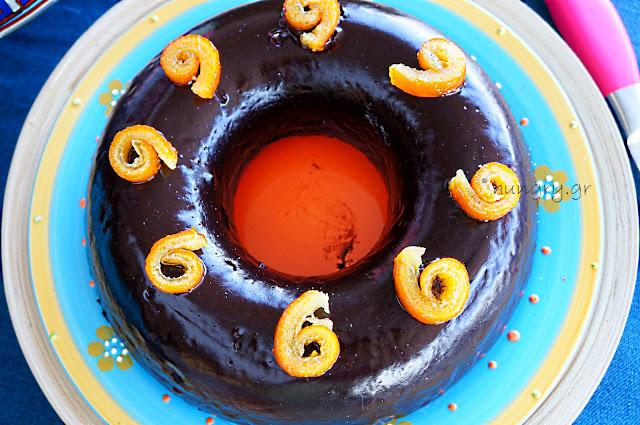 Κέικ Νηστίσιμο Σοκολατένιο