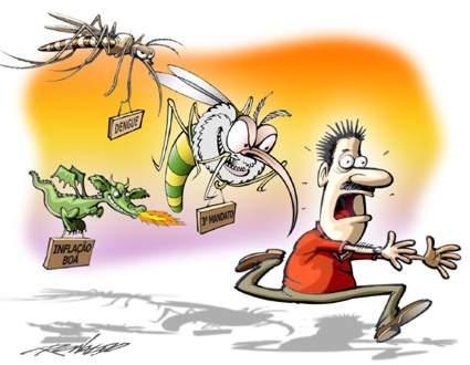 Vai dar merda: Brasil quer usar radiação atômica contra 'Aedes aegypti'
