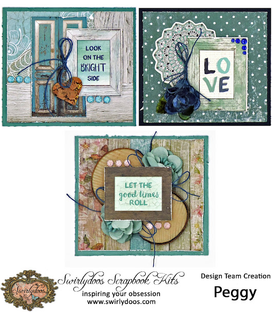 "The End of ""Indigo Dreams"" and Bec's Mini Card Challenge for April"