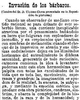 Fragmento del texto publicado en Las Dominicales del Libre Pensamiento