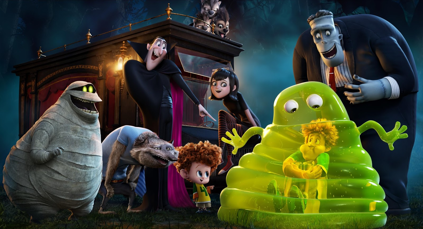 3D Animated Movie Wallpaper 2016 Hotel Transylvania 2 Komedi Family