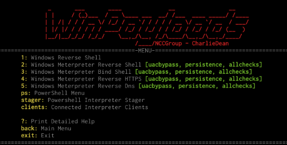 WinPayloads – Undetectable Windows Payload Generation