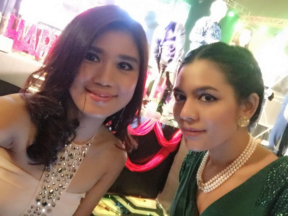 Khin Thin Kyi Attends Shwe Hmone's Birthday Dinner