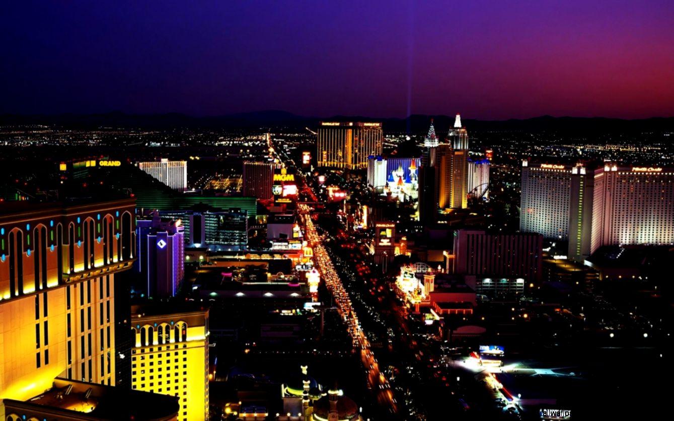 Las Vegas Strip Night Beautiful Hd Wallpaper All Wallpapers Desktop