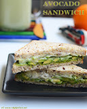 Avocado sandwich recipe