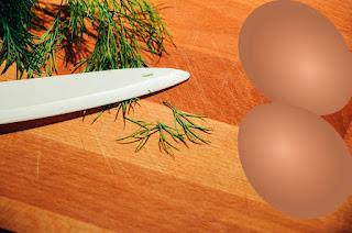 składniki do sosu koperkowego
