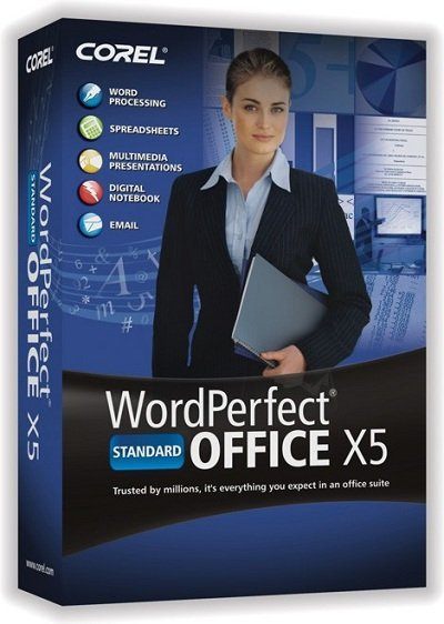 Buy Official WordPerfect Office X5 Standard Software