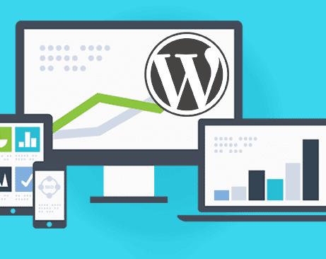ilustrasi tampilan website wordpress untuk adsense