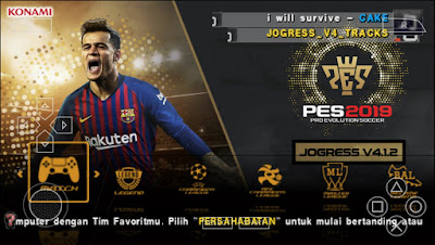 PES 2019 PPSPP Jogress Evolution Patch Season 2018/2019