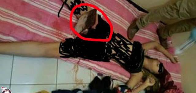 Super Sadis....Wanita Cantik Ini Dibunuh Dengan Memasukkan Gagang Cangkul Pada Kemaluannya