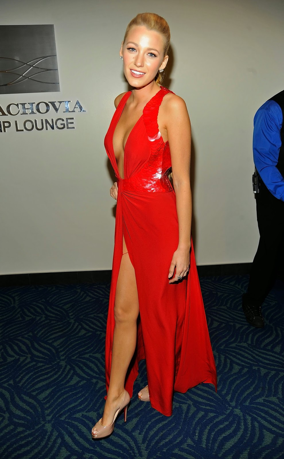 Blake Lively Red Dress Cocktail Dresses 2016