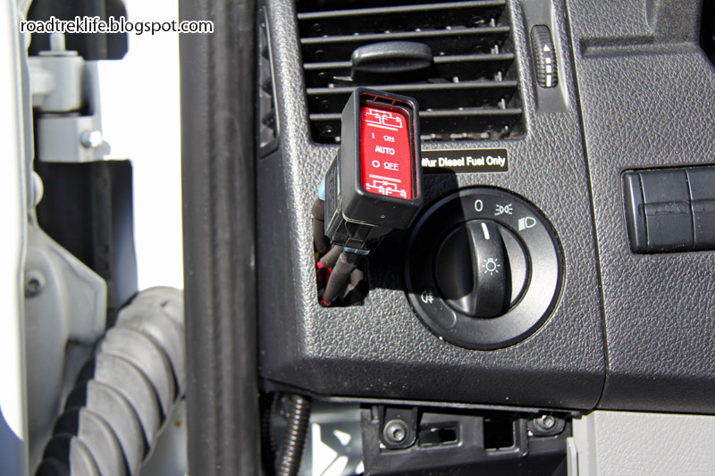 Roadtrek Modifications Mods, Upgrades, and Gadgets: Battery Separator Upgrade to Blue Sea ML