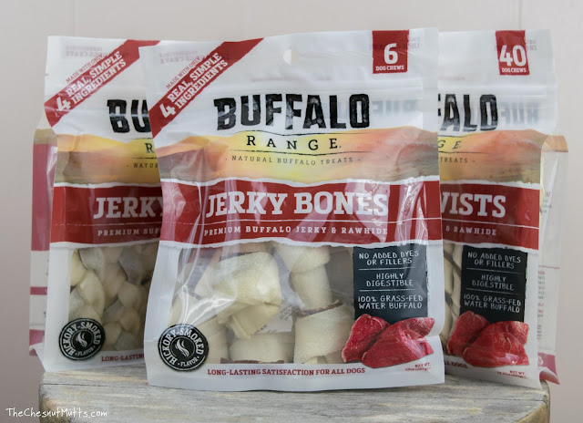 Buffalo Range Dog Treats