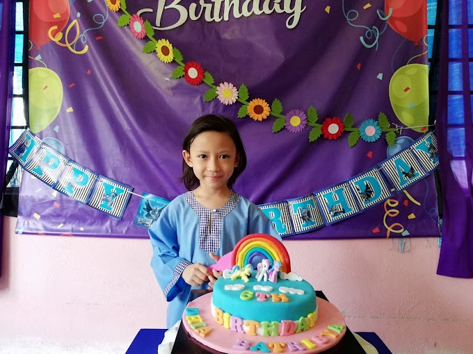 SAMBUTAN 6TH BIRTHDAY DHIA BATRISYA DI TABIKA KEMAS !
