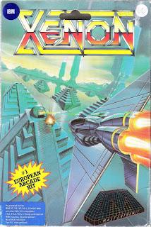 Portada Xenon (DOS)
