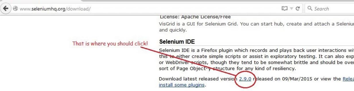 how to download selenium ide