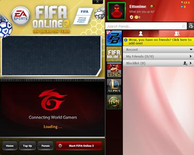 Cara Install FIFA Online 3 Garena Indonesia Terbaru 25
