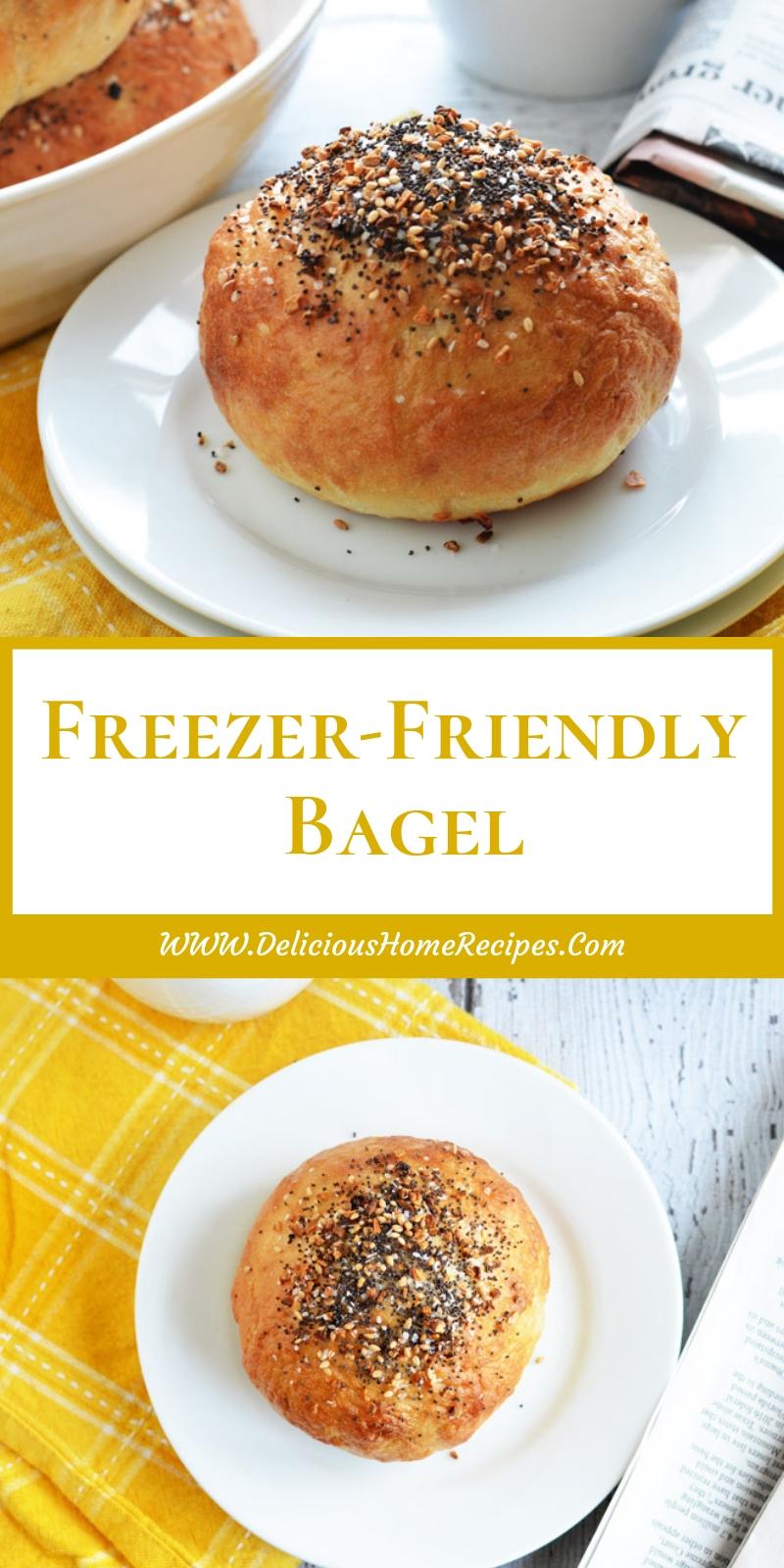 Freezer-Friendly Bagel