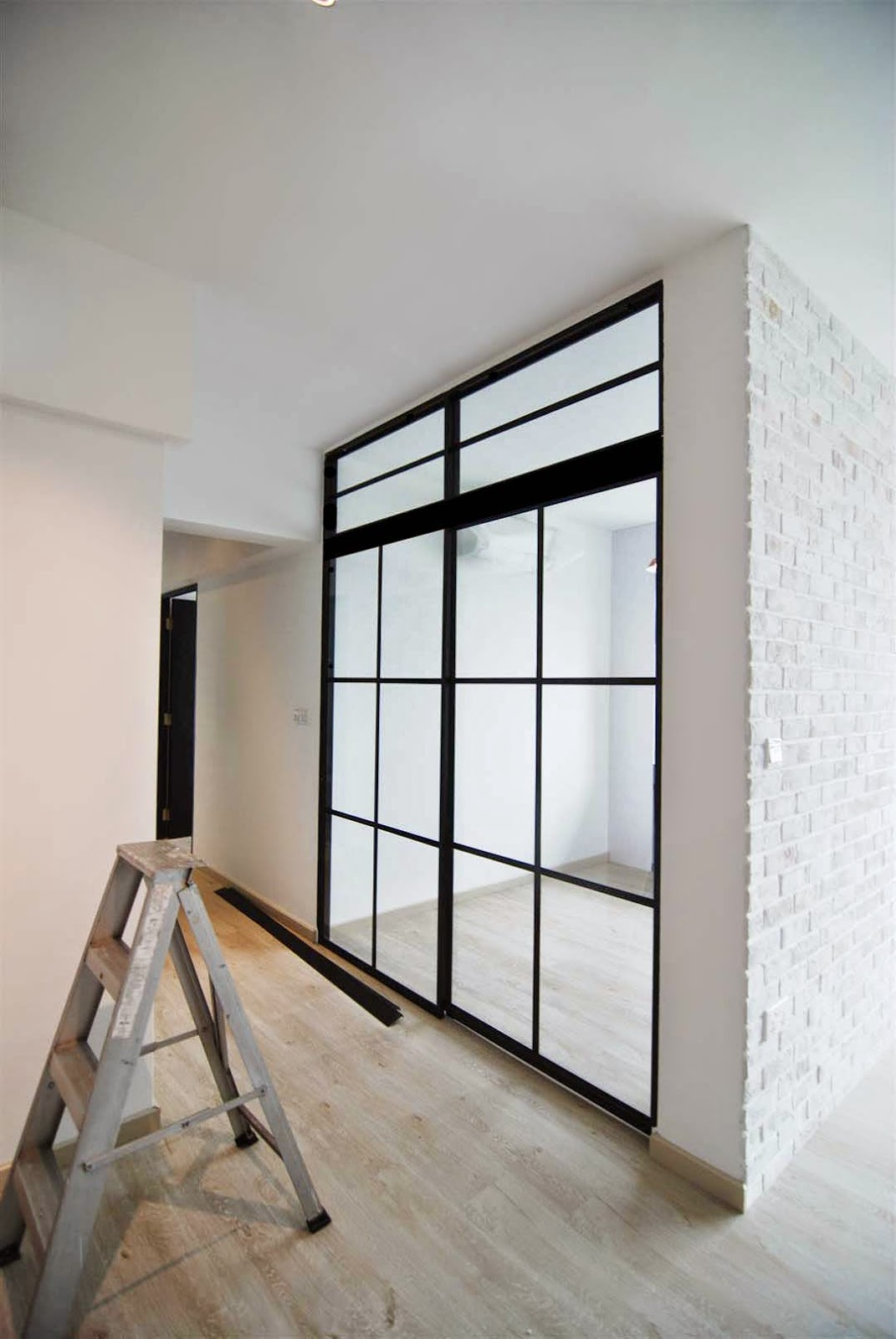 Study Room Glass: Butterpaperstudio: Reno@Yishun Riverwalk