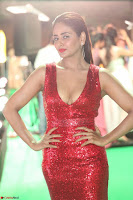 Parul Yadav in Sleeveless Deep Neck Red Gown at IIFA Utsavam Awards March 2017 023.JPG