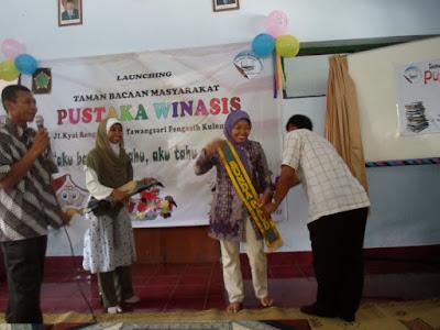 Profil Perpustakaan Desa Pustaka Winasis, Desa Tawangsari, Kulonprogo Yogyakarta