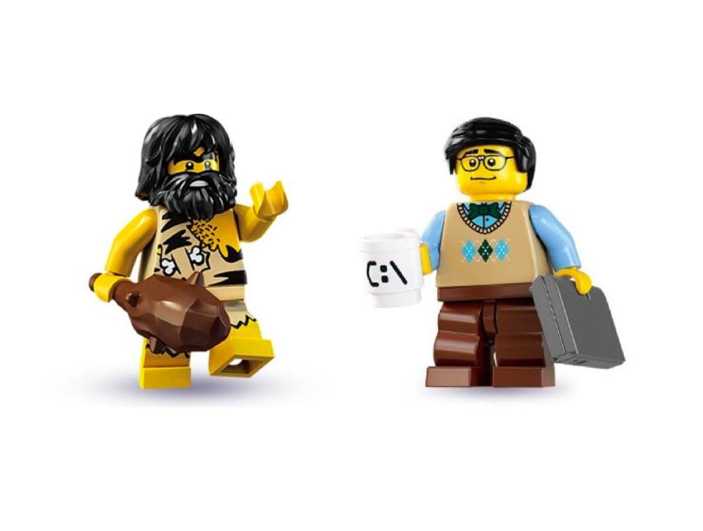 Caveman Questions : Your brain's battle between the professor & caveman
