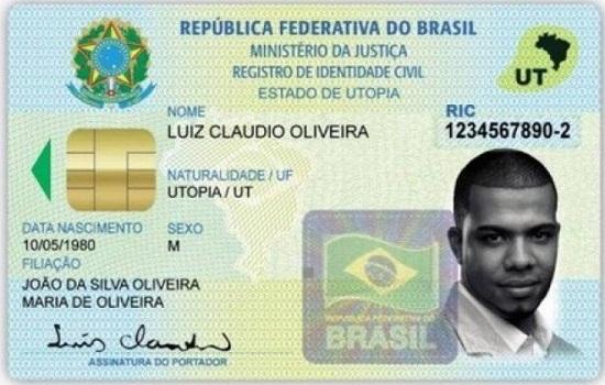 Novo documento único de identidade será lançado segunda-feira