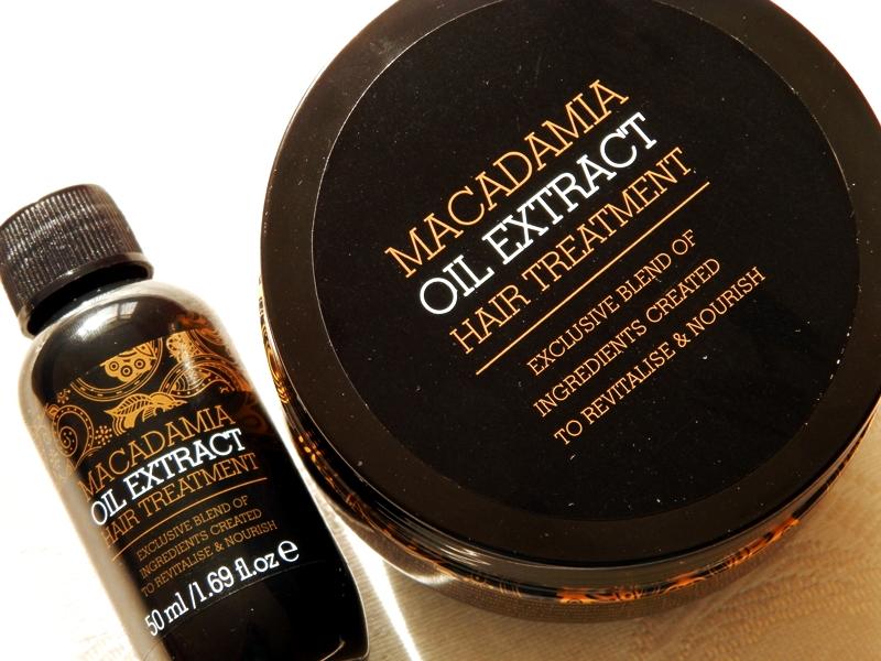Niedziela dla włosów (7)- Macadamia Oil Extract duet maski i olejku