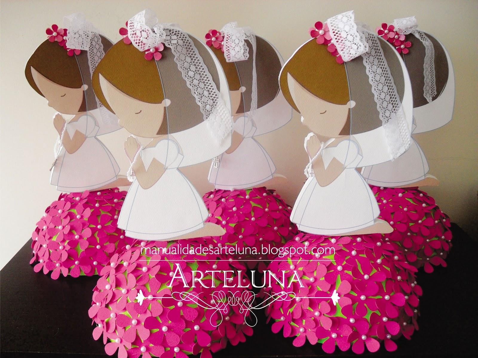 Decoration42 decoracion de mesas de comunion - Adornos mesa comunion ...