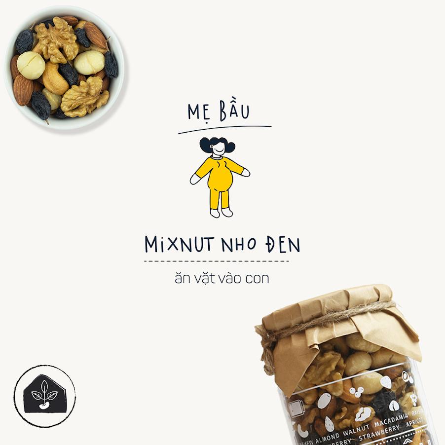 Chuẩn bị những món ăn vặt từ hạt dinh dưỡng cho Mẹ Bầu