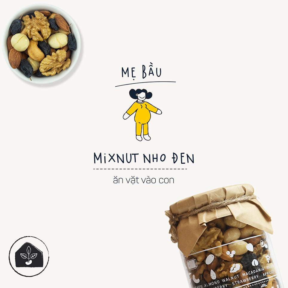 Mixnuts dinh dưỡng cho thai nhi phát triển toàn diện