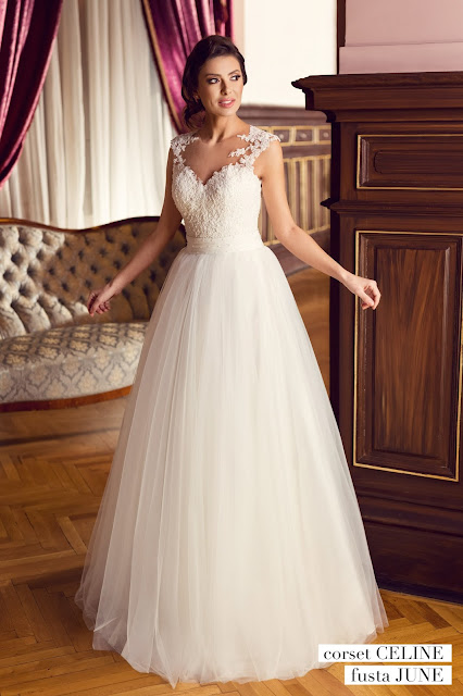 rochie de mireasa eleganta